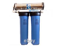 Premier Hydroponic Reverse Osmose Système De Filtration D'eau 600 Gpd Sxt20 USA