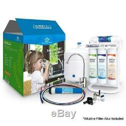Pure-pro Ers-106 + Alcaline 6 Étapes Ro Eau Potable Système De Filtration