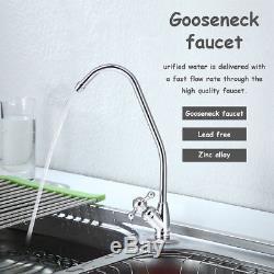 Purificateur Blanc Pour Système De Filtration D'eau Potable À Osmose Inverse Ultra-sûr 5 Étapes