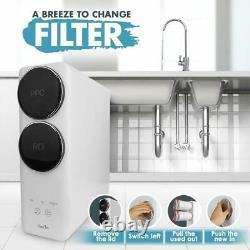 Purificateur De Filtre À Eau Potable 400g Large Flow 3 Étapes Ro Reverse Osmosis System