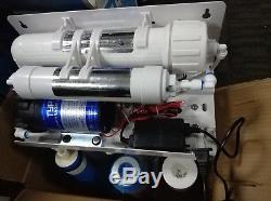 Purificateur De Ro De Système D'eau Potable Par Osmose Inverse À 5 Étapes Avec Filtres Toute La Maison