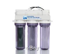 Reef Aquarium Désionisation Osmose Inverse Ro / DI Système De Filtration D'eau 75 Gpd