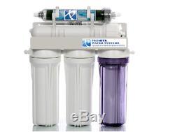 Reef Aquarium Osmose Inverse Système De Filtration 150 Gpd 5 Etape Ro / DI Made In USA