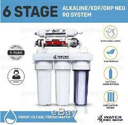 Remplacement / Portable Osmose Inverse Alcaline / Kdf / Redox Neg Eau Système 50 Gpd
