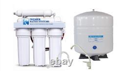 Résidentiel Ménage Potable Eau Pure Ro Inverse Osmose Filtre Système 50gpd