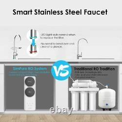 Reverse Osmosis Drinking Water Filtration System Undersink Filtre À Eau Purificateur