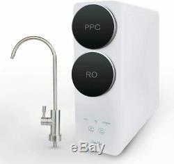 Ro 400g Potable Par Osmose Inverse Filtre À Eau Système Purificateur Débit Rapide, Sans Réservoir