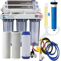 Ro / DI Osmose Inverse Aquarium / Récif Clear System Flush Valve Manuelle 150 Gpd