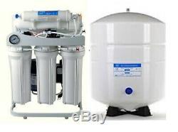 Ro Eau Par Osmose Inverse Filtration Système De Pompe Booster Tfc-2012-200 6 G Réservoir