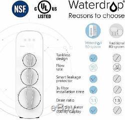 Ro Goutte D'eau Potable Par Osmose Inverse Système De Filtration D'eau