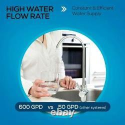 Ro Système De Filtration D'eau D'osmose Inverse, Sous Purificateur Sans Réservoir D'évier, 1.51
