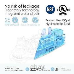 Ro Tankless Système D'osmose Inverse De Filtration D'eau Tds Réduction De Waterdrop