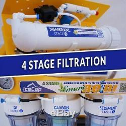 Rodi 4 Icecap Intelligent Etape 100gpd Système De Filtration D'eau Par Osmose Inverse
