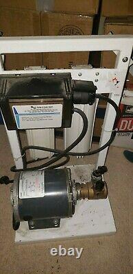 Sc Water Filter System 2 Stage Avec Pompe Procon C01533h, 1/4hp 120v