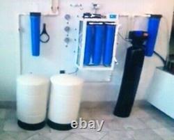Service Alimentaire Commercial Osmose Inverse (800 Gpd) Système De Filtration D'eau Combo