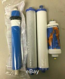 Set De Filtre Avec Membrane Compatible Pour Culligan Ac-30 Système D'osmose Inverse