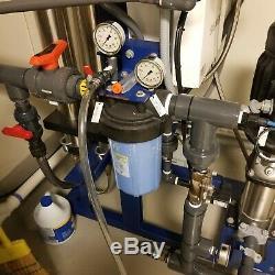 Siemens Catégorie Commerciale Système D'osmose Inverse De Filtration D'eau 7500gpd 5.2gpm
