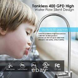 Simpure Tankless Système D'osmose Inverse De Filtration D'eau Fcc / Ul Avec Robinet