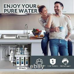 Simpure Whole House 6stage Reverse Osmosis Alkaline Ph+ Water Filtration System