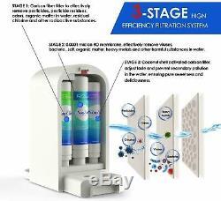 Simpure Y5 Portable Ro Filtre À Eau Système De Filtration D'eau Purificateur Ro Countertop