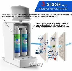 Simpure Y6 Stérilisation Uv Osmose Inverse 3 Étapes Système De Filtration De L'eau États-unis