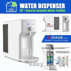 Smart Uv Stériliser Eau Par Osmose Inverse Système De Filtration Purificateur Distributeur D'eau