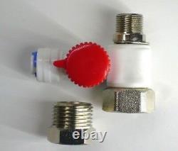 Système 6 Étapes De Filtre À Eau Ro, 75 Gpd Membrane Et Robinet En Nickel Brossé
