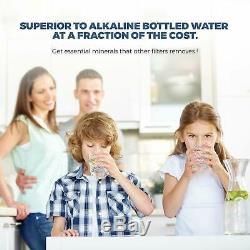 Système Alcalin D'osmose Inverse De Filtration D'eau 6 Etape Accueil Ro 100 Gpd Etats-unis