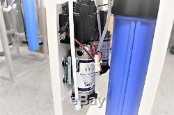 Système Commercial D'osmose Inverse 600 Gpd Ro Électrique Avec Surpresseur Nouveau