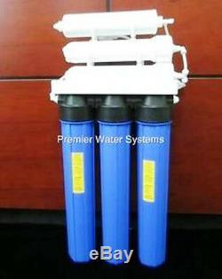 Système Commercial De Filtration De L'eau Par Osmose Inverse De Premier Plan 200 Étapes De Gpd 5