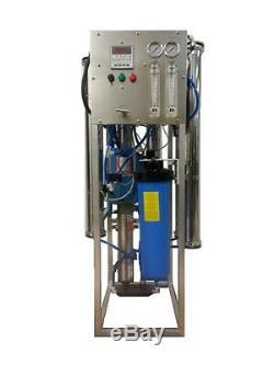 Système Commercial De Purification De L'eau Par Osmose 8000 Gpd