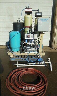 Système Commercial Industriel De Traitement De L'eau Filtration Reverse Osmosis Process System