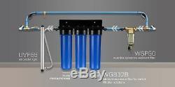 Système D'alimentation En Eau Intégral Wgb32bm À 3 Étages Ispring Lead, Réduction De Fer, Manganèse