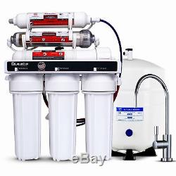 Système D'eau Alcalin D'osmose Inverse Antioxydant 6 Étapes Kdf / Ph 100 Gpd