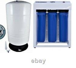 Système D'eau D'osmose Inverse 1000 Gpd Avec Pompe D'appoint Réservoir De 40 Gallons