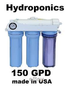 Système D'eau Oi Hydroponique 150 Gpd Koolermax Reverse Osmosis Hk-120 USA Fabriqué