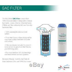 Système D'osmose D'inversion Potable À La Maison De L'eau Maximum De 5 Étapes Avec Un Total De 12 Filtres De Ro