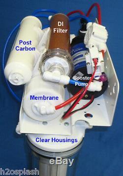 Système D'osmose Inverse 5 Etape 100/150 Gpd Ro DI / Booster / Perméat Filtre À Eau