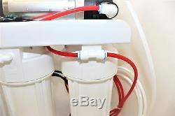 Système D'osmose Inverse 5 Étapes 100 Gpd Avec Pompe De Surpression