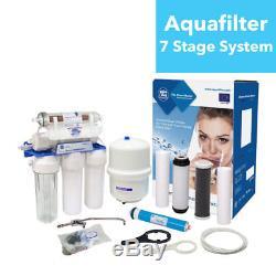 Système D'osmose Inverse 7 Étapes Aquafilter 75gpd Pour Eau Potable