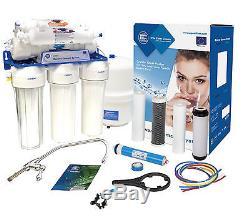 Système D'osmose Inverse À 6 Étapes Aquafilter 75gpd Pour Eau Potable