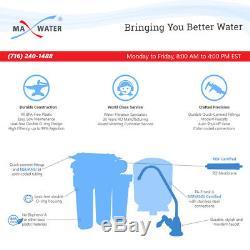 Système D'osmose Inverse À Boire À 5 Étapes Plus 7 Filtres D'eau Max 100 Gpd
