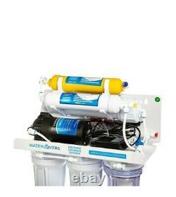 Système D'osmose Inverse Aquarelles Ro6 Pro 100 Gpd Avec Pompe