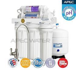 Système D'osmose Inverse Certifié Ro-ph90 À Débit Élevé Alcalin De L'étape 90 Gpd De L'apec 6