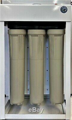 Système D'osmose Inverse De Filtration D'eau 1200 Gpd Double Booster Pompes