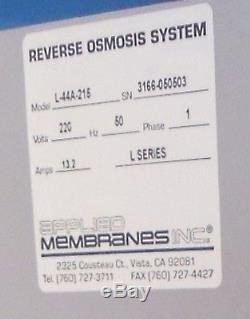 Système D'osmose Inverse De Norland International Modèle 6000 (6 000 Gallons / Jour)