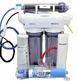 Système D'osmose Inverse Désionisation 4 Etape 80 Gpd Aquarium Filtre À Eau Reef
