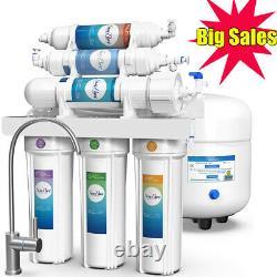 Système D'osmose Inverse En 6 Étapes T1 Système De Filtration D'eau Alcalin De Ph+