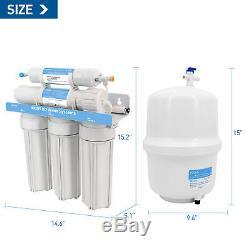 Système D'osmose Inverse Filtre D'eau Potable De Purification Hikins Système D'osmose Inverse 125g