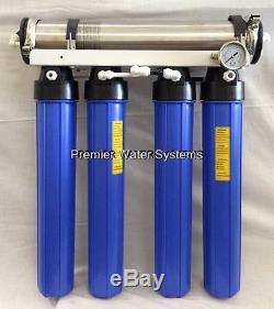 Système D'osmose Inverse L'eau 1000 Gpd Avec Double Sortie Restaurant Catering USA